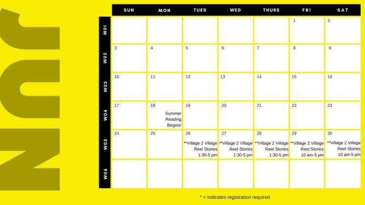 SRC 2018 Calendar page 1